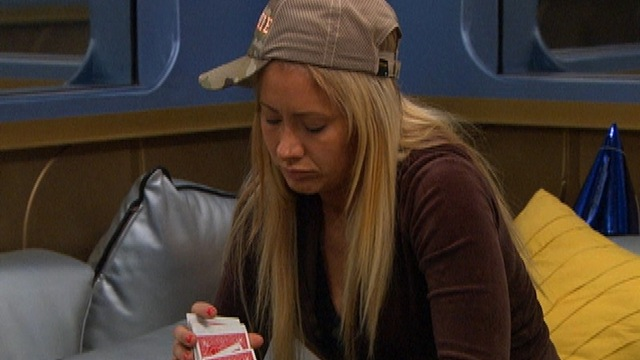 Big Brother: Feed Clip: GinaMarie Plays Solitaire
