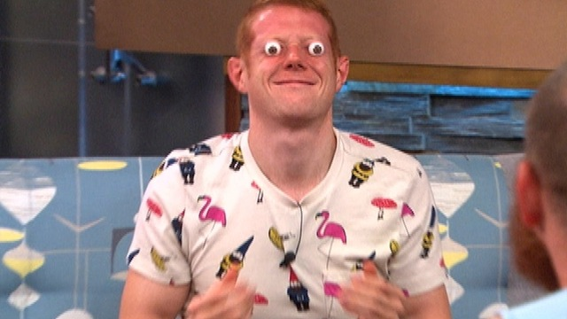 Big Brother: Feed Clip: Googly Eyes