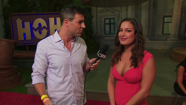Big Brother Finale: Backyard Interview with Jessie