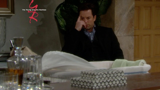 The Young and the Restless - Adam's Mood
