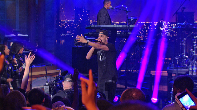 Live On Letterman: J. Cole - Work Out
