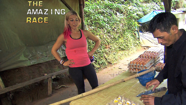 The Amazing Race - I Don't Do Yolks