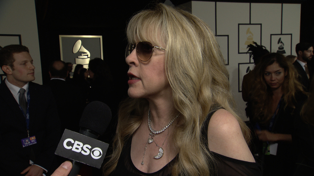 56th Grammy Awards - Stevie Nicks Interview