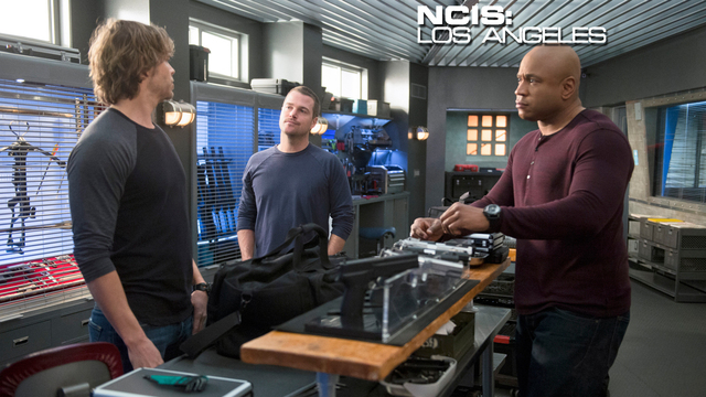 17. NCIS: Los Angeles - Between the Lines