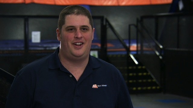 Undercover Boss - Interview with Miles (Sky Zone)