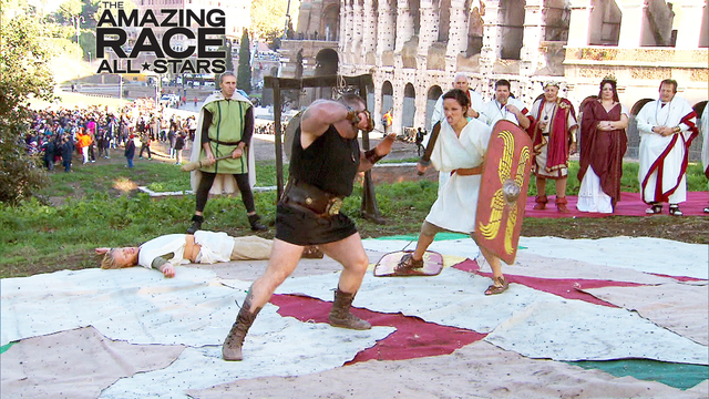 7. The Amazing Race - The Gladiators Are Here!