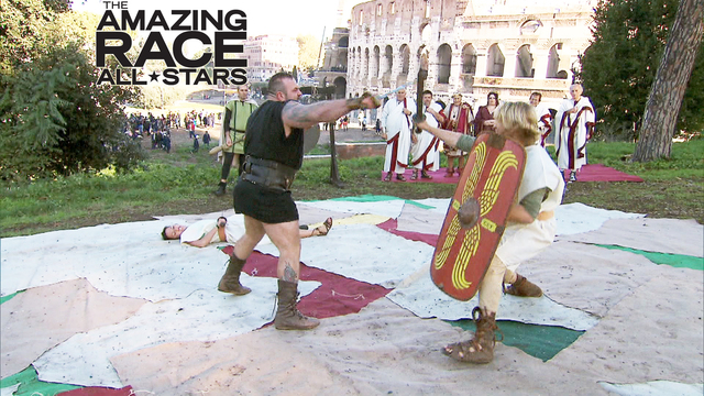 The Amazing Race - The Angry Gladiator