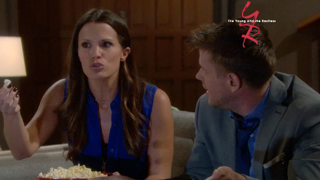 The Young and the Restless - Billy and Chelsea's Movie Night