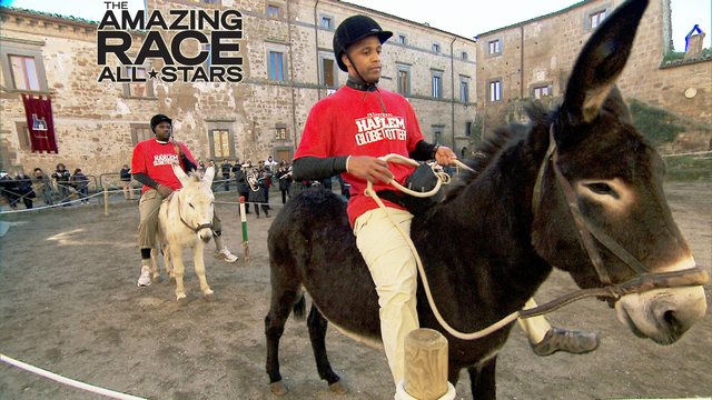 8. The Amazing Race - Donkeylicious