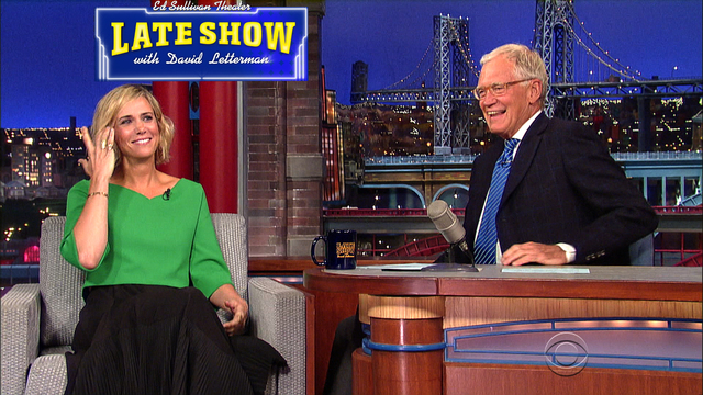 4078. The Late Show - 9/3/2014