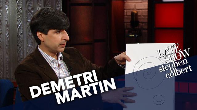 demetri martin the overthinker