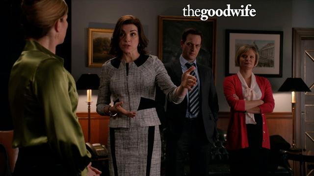 The Good Wife - Alicia Confronts Cary