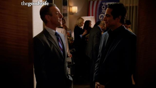 The Good Wife - Eli Pays Cristian Off