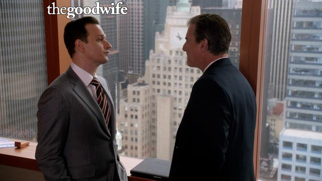 The Good Wife - Will Confronts Peter