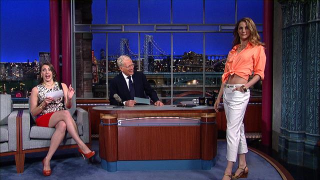 The Late Show: David Letterman - The Flash Mob Fashion Show