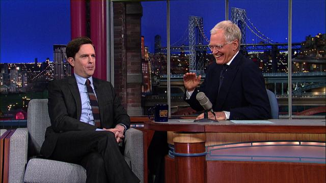 The Late Show: David Letterman - Ed Helms Does Tom Brokaw
