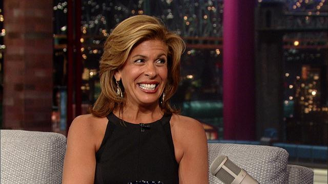 The Late Show: David Letterman - Hoda Kotb's Morning Happy Hour