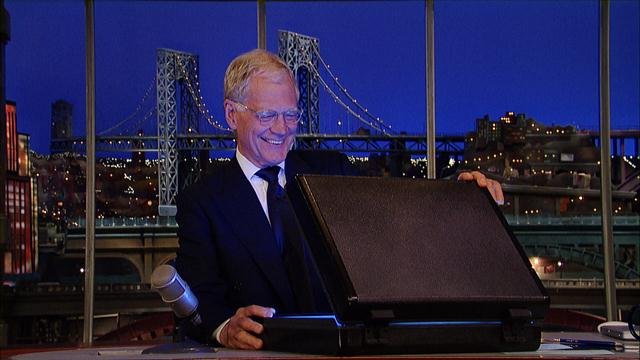 David Letterman - Dave's Secret Delivery