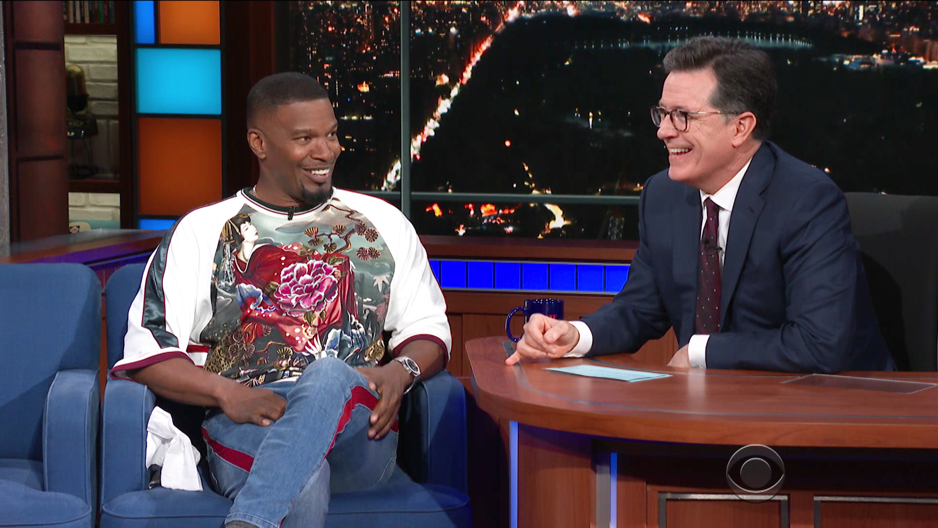 Watch The Late Show with Stephen Colbert Season 3 Episode 140: 5/15/18  (Jamie Foxx, Nathaniel Rateliff & The Night Sweats) - Full show on CBS All  Access