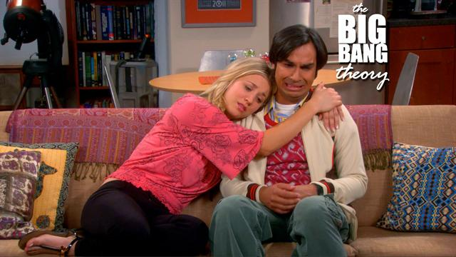 The Big Bang Theory - Raj Opens Up to Penny