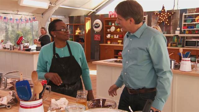 The American Baking Competition: Jeff Visits Elaine