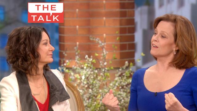 The Talk - Sigourney Weaver 