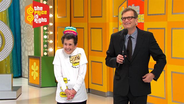 The Price Is Right - Way To Go, Elaine!