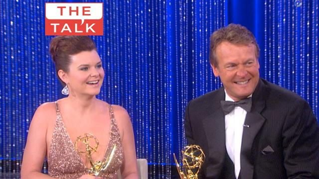 The Talk - Daytime Emmys: Heather Tom and Doug Davidson