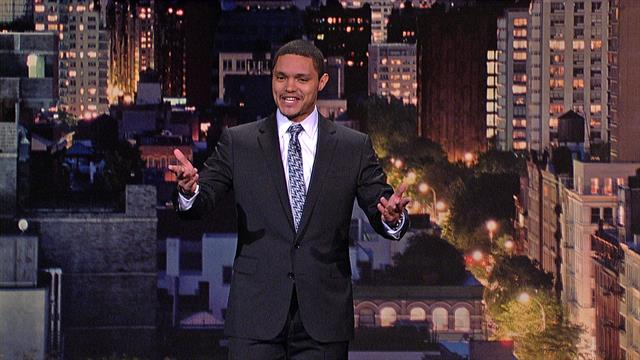 The Late Show: David Letterman - Comedian Trevor Noah