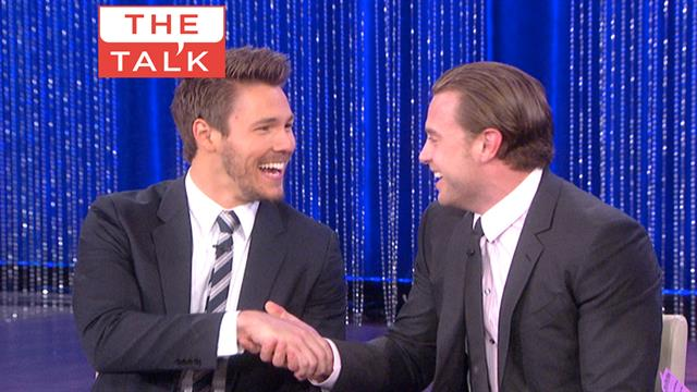 The Talk - Daytime Emmys: Billy Miller and Scott Clifton