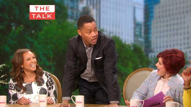 The Talk - Fun with Cuba Gooding Jr.
