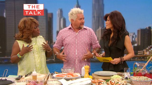 The Talk - Seafood Cooking with Guy Fieri