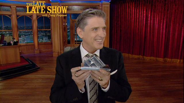 The Late Late Show: Craig Ferguson - Craig Wins an Award