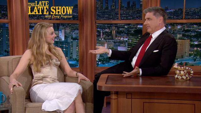 The Late Late Show: Craig Ferguson - Natalie Dormer on 'Elementary'