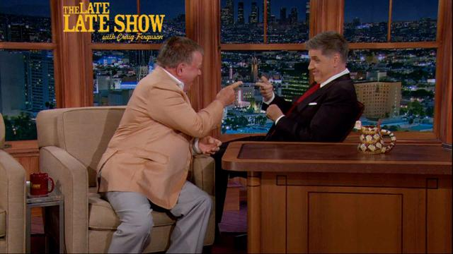 Craig Ferguson - William Shatner Comes With An Agenda