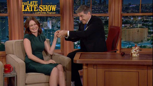 The Late Late Show: Craig Ferguson - Vomiting Girl