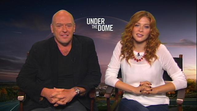 Under the Dome - Dean Norris & Rachelle Lefevre