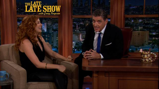The Late Late Show: Craig Ferguson -  Rachelle Lefevre Interview