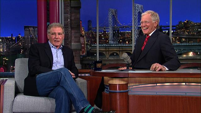 David Letterman - Harrison Ford in New