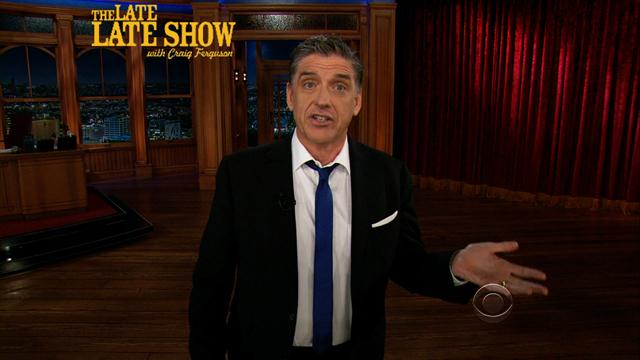 The Late Late Show: Craig Ferguson - Craig's Monologue - 6/17/2013