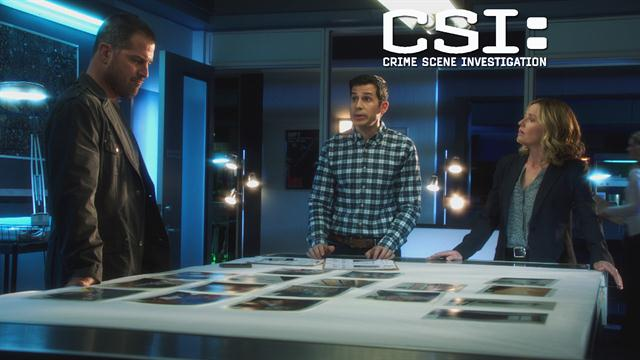 CSI: - We're Going To Hunt Him Down