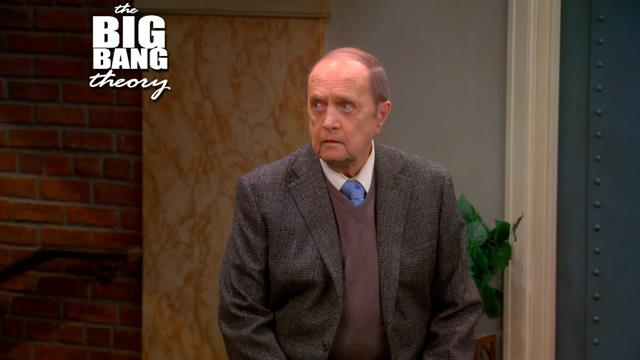 The Big Bang Theory - Bob Newhart Guest Stars