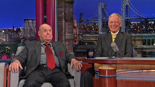 The Late Show: David Letterman - Don Rickles on Frank Sinatra