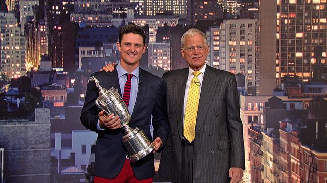 The Late Show: David Letterman - Top Ten with U.S. Open Champ, Justin Rose