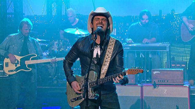 The Late Show: David Letterman - Brad Paisley: