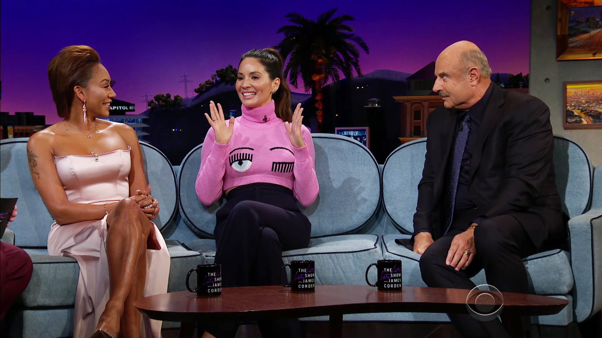 Watch The Late Late Show with James Corden Season 4 Episode 8: 9/13/18 (Mel  B, Dr  Phil, Olivia Munn, Good Charlotte) - Full show on CBS All Access