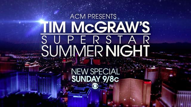 ACM Presents Tim McGraw - Superstar Summer Night (Preview)