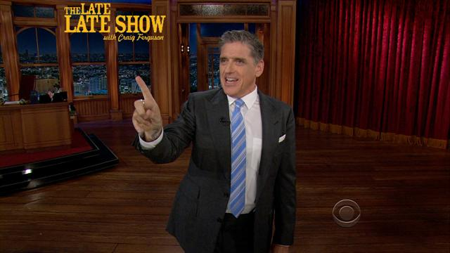 The Late Late Show: Craig Ferguson - Craig's Monologue 5/20/2013