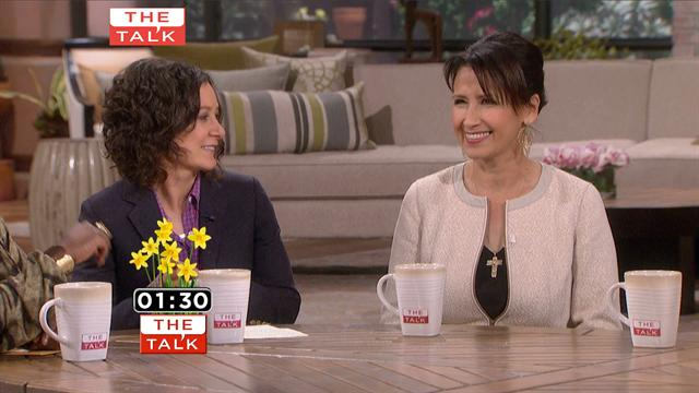 The Talk - Mother's Mystery Week: Mario Lopez & Mom