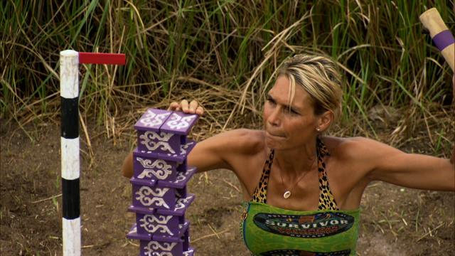 Survivor: Caramoan - Reward Challenge: Teeter Tower